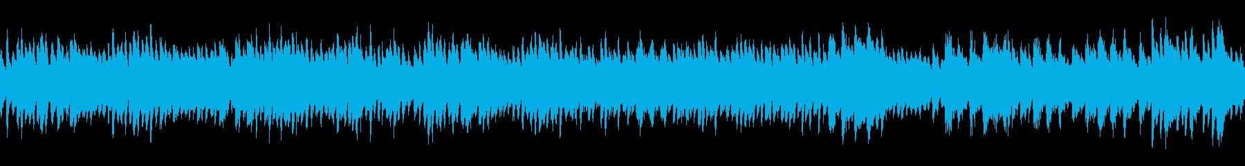 何処からか聞こえてくるロマンチックハープの再生済みの波形