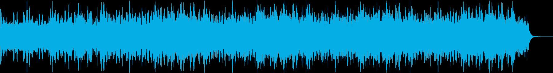 前向きなサウンドの再生済みの波形