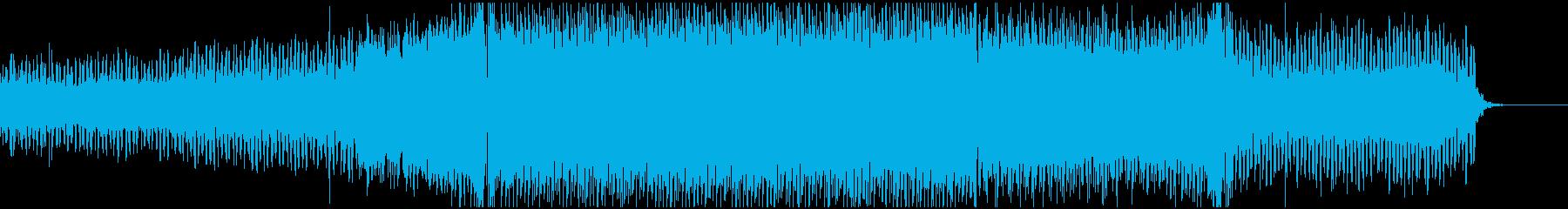 懐かしい雰囲気のトランスの再生済みの波形