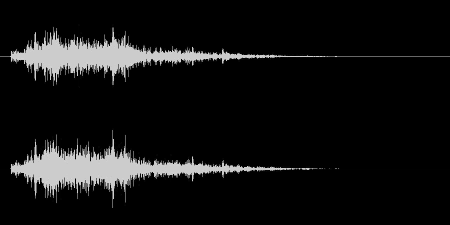 [生録音]ミキサーで混ぜる04-一瞬の未再生の波形