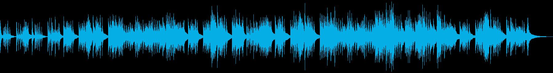 穏やかなピアノソロ 青空 癒しの再生済みの波形