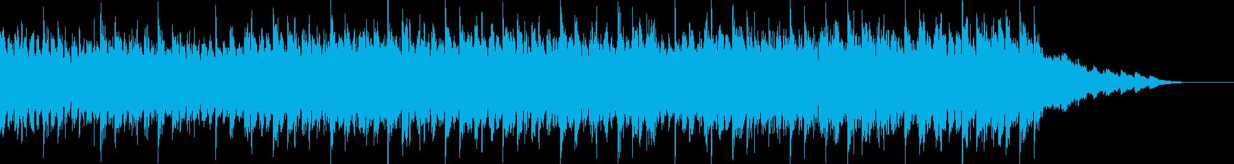 エレキギターがメインの軽快なポップスCの再生済みの波形