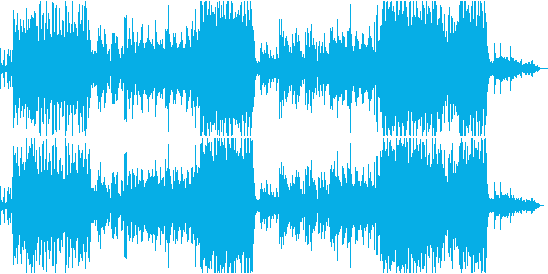 竃、楽しく優しい、生演奏の二胡の再生済みの波形