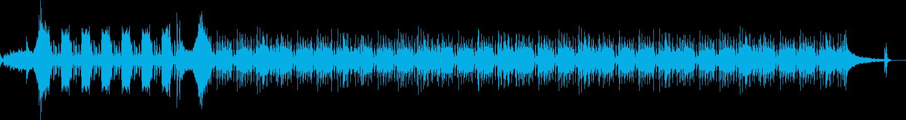 衝撃の事実を知った時のBGMの再生済みの波形