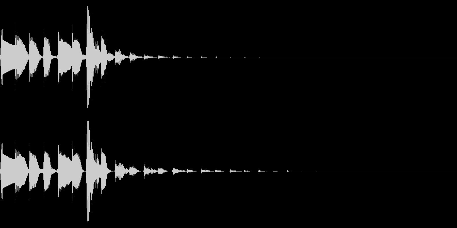 ピコポコ(かわいいファミコンほのぼの#2の未再生の波形