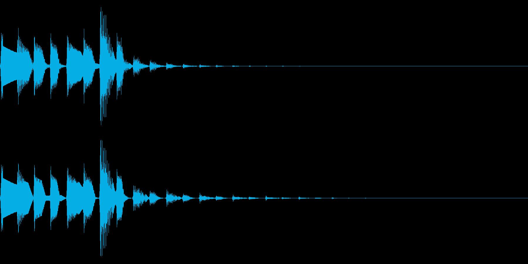ピコポコ(かわいいファミコンほのぼの#2の再生済みの波形