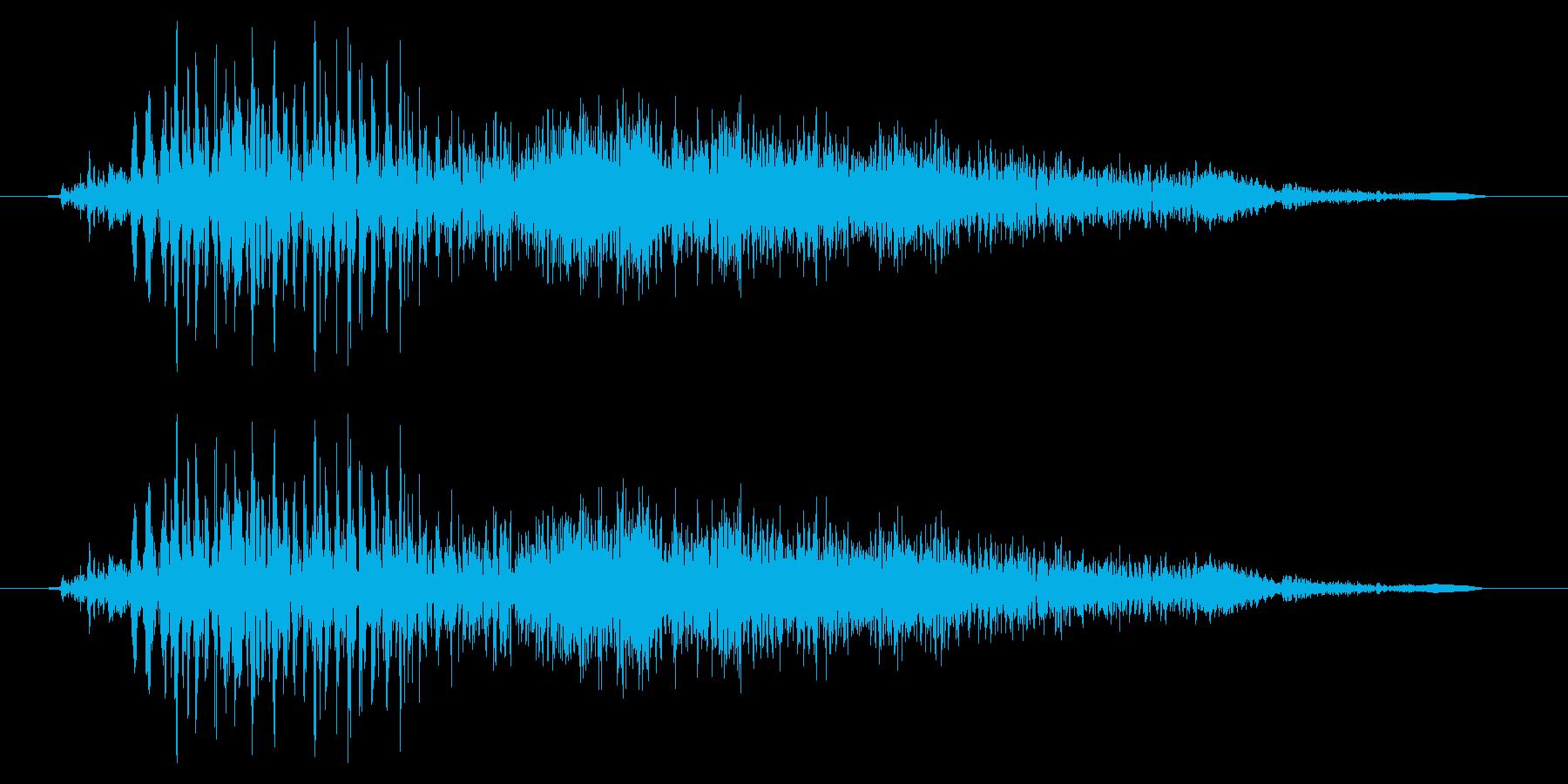 ドラゴン モンスター ゲーム タップ 通の再生済みの波形