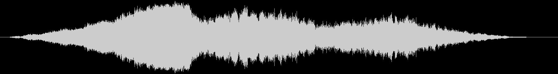 素材 フェージングドローンベル04の未再生の波形