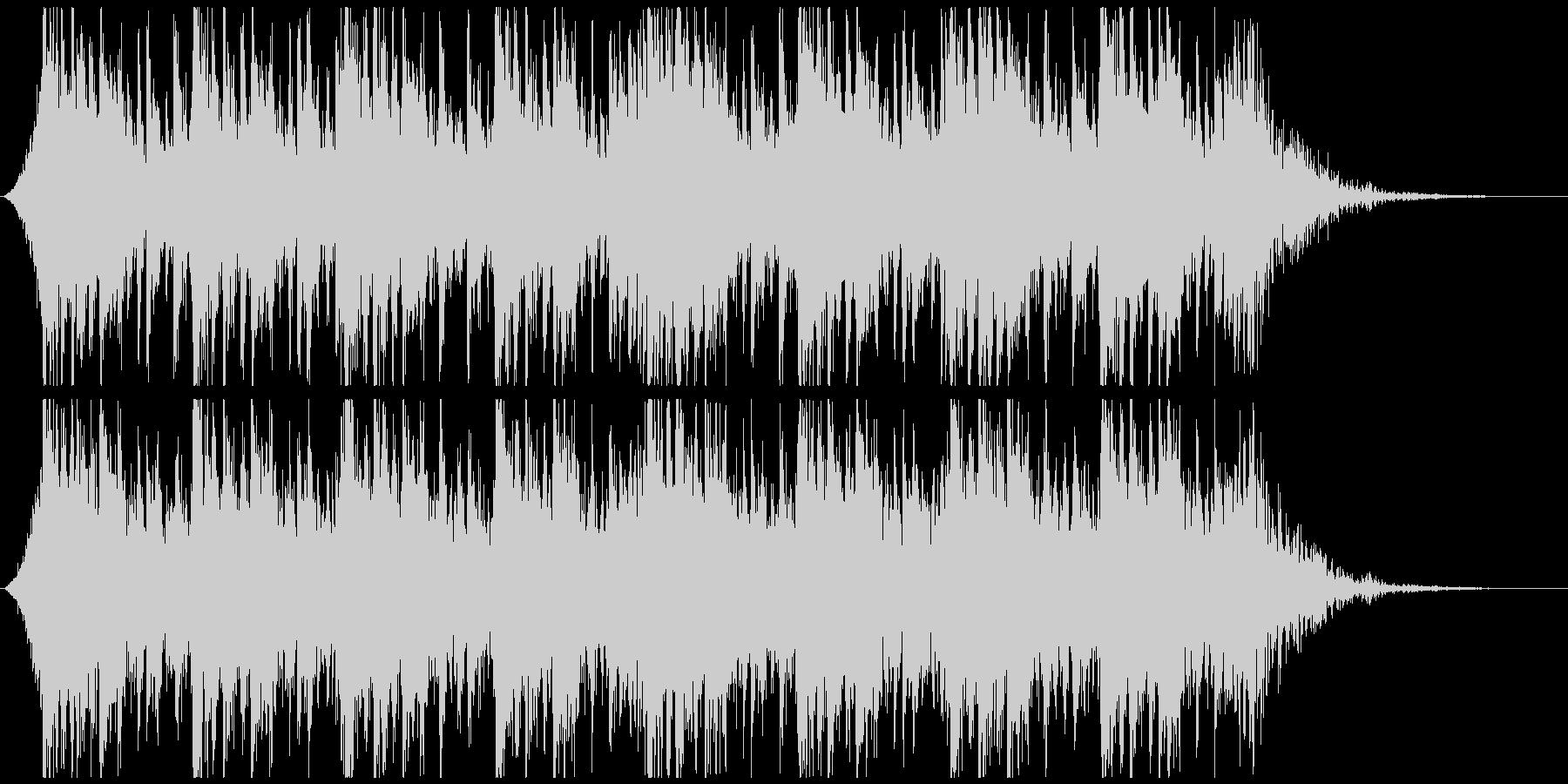 和太鼓と太鼓で迫力壮大かっこいいジングルの未再生の波形