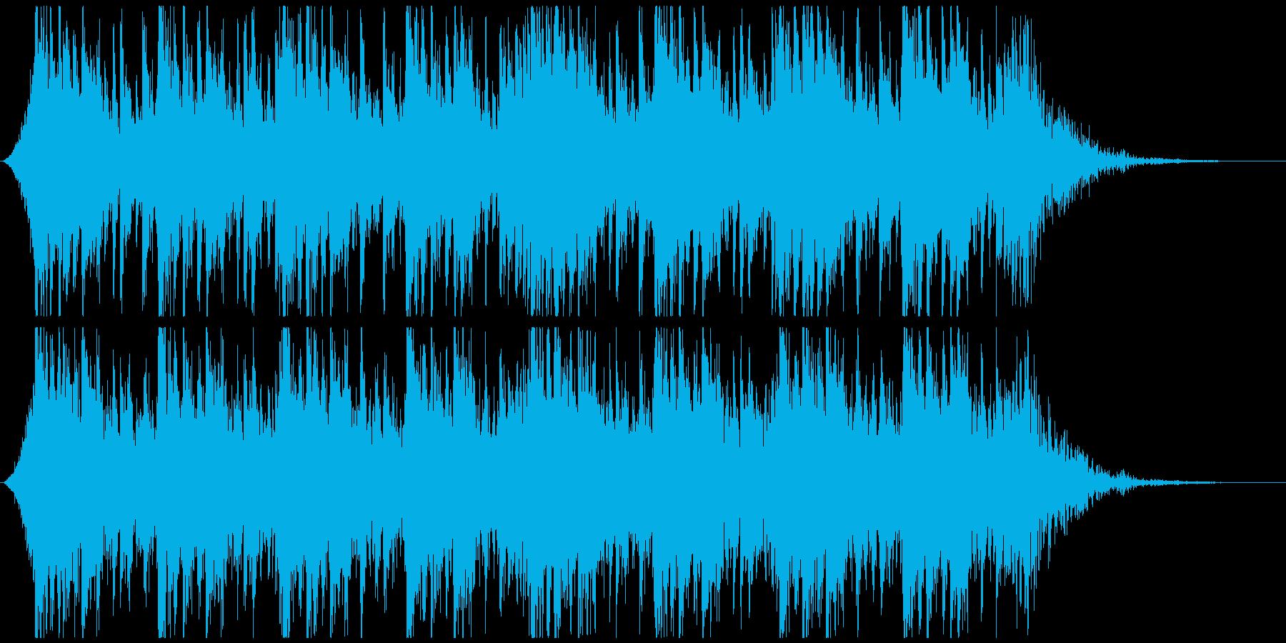 和太鼓と太鼓で迫力壮大かっこいいジングルの再生済みの波形