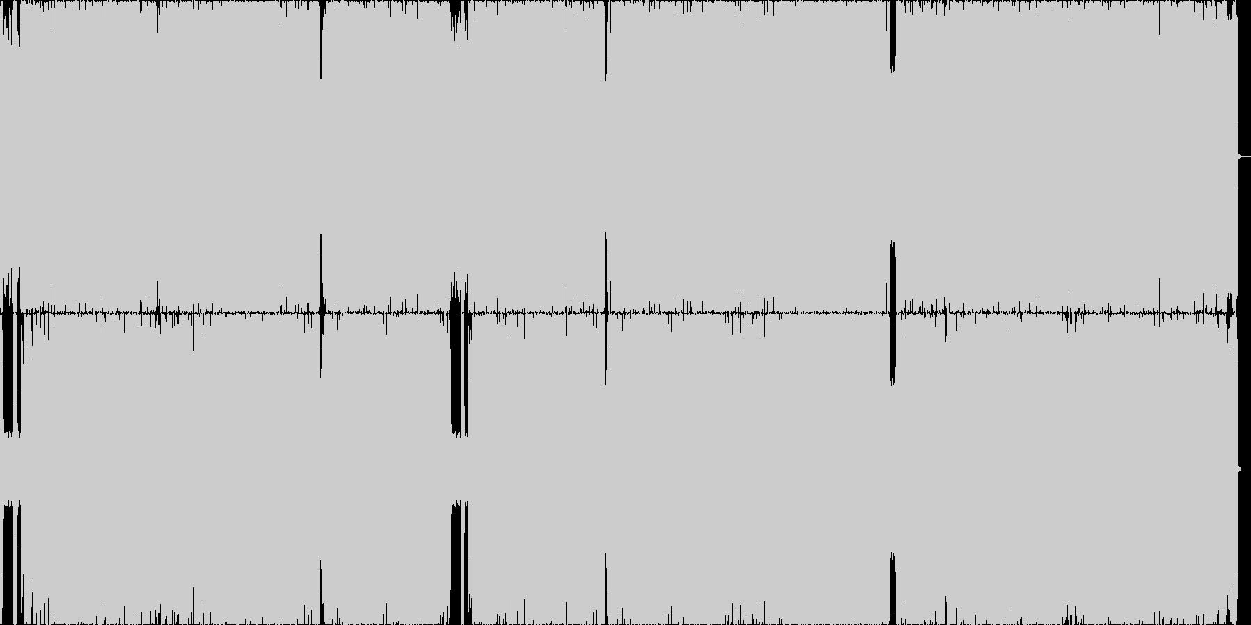 王道メタル3 哀愁/重厚/刺々しいの未再生の波形