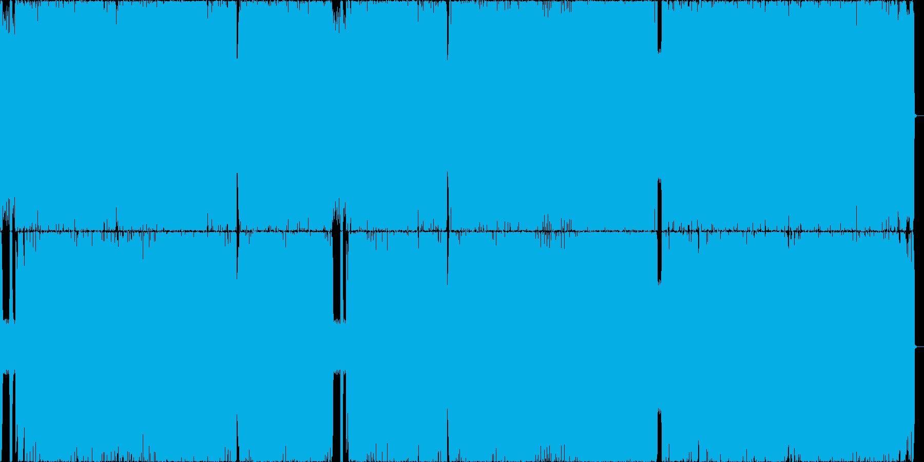 王道メタル3 哀愁/重厚/刺々しいの再生済みの波形