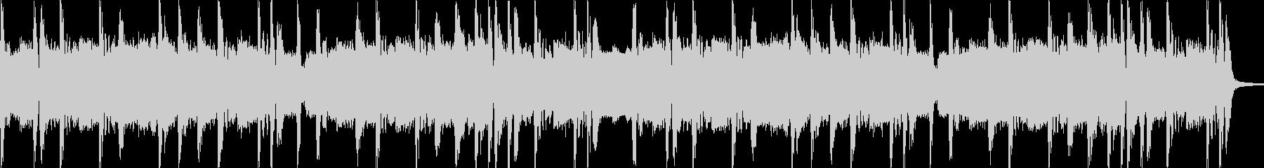 ノリノリなヒップホップビート8小節の未再生の波形