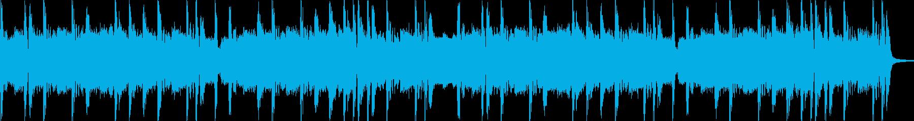 ノリノリなヒップホップビート8小節の再生済みの波形