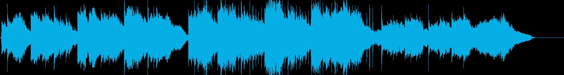 生演奏ソプラノサックスの子守唄の再生済みの波形