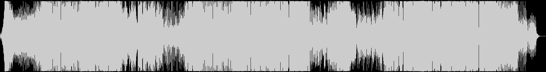 メロディックなEDM曲の未再生の波形