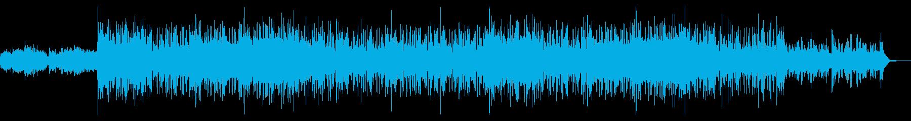 ミディアムダークなデジタルテクスチャの再生済みの波形