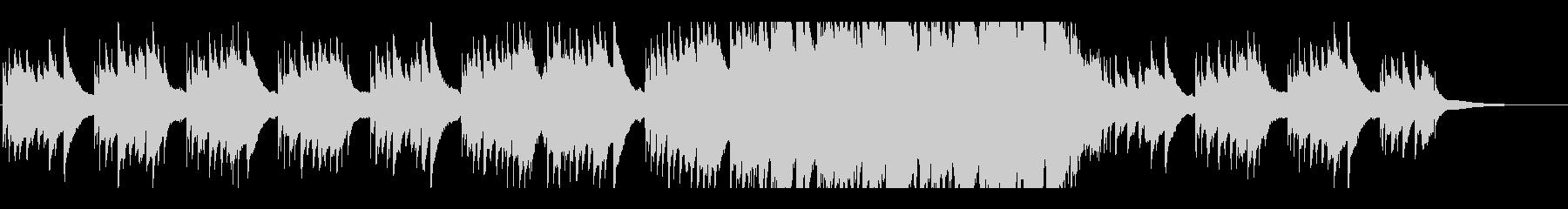 ノスタルジックなbgm 3の未再生の波形