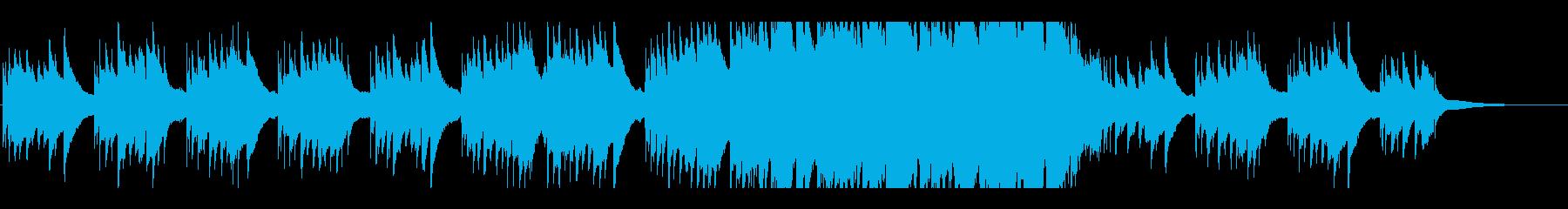 ノスタルジックなbgm 3の再生済みの波形