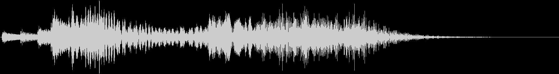 テレビ番組・CM・動画テロップ06の未再生の波形