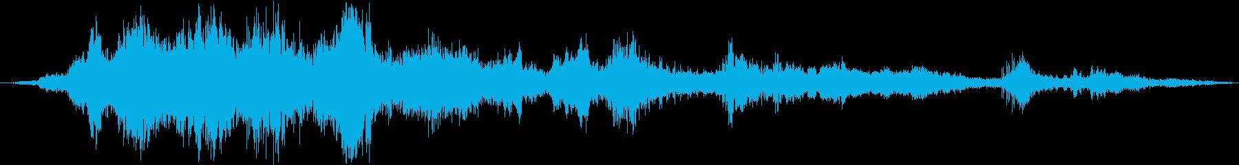 中学生:笑い声、子供または赤ちゃん...の再生済みの波形