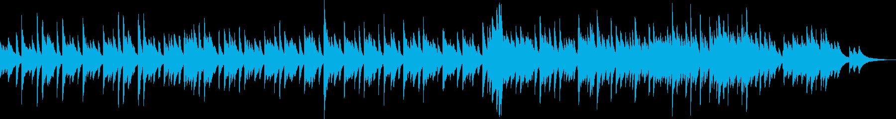 目の前の悲しみを乗り越える為のピアノ曲の再生済みの波形