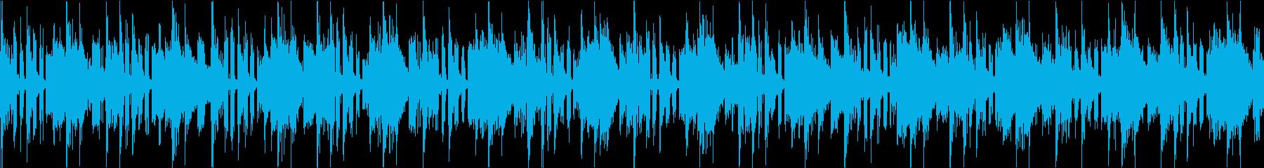 【ループ素材】 どきどきシンキングタイムの再生済みの波形