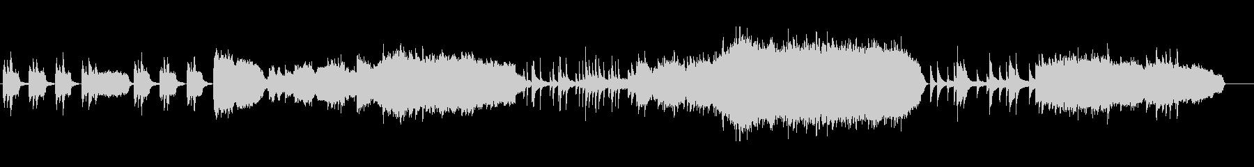 ピアノ&ストリングス 王道の感動曲の未再生の波形