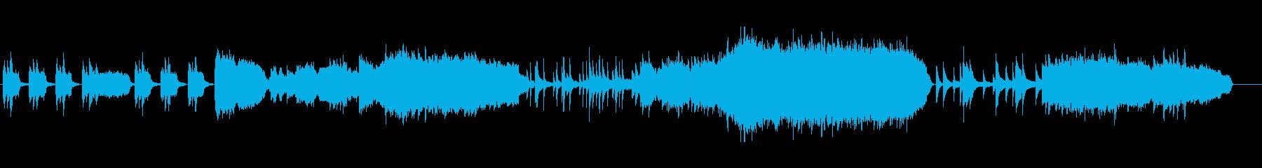 ピアノ&ストリングス 王道の感動曲の再生済みの波形