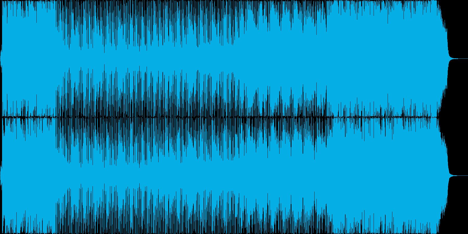 オープニングに最適なスイングポップの再生済みの波形