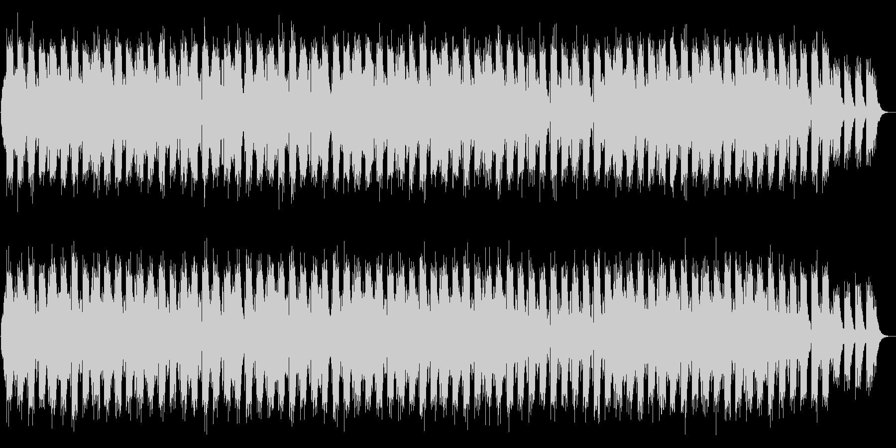 ゆったりとした二胡のBGMの未再生の波形
