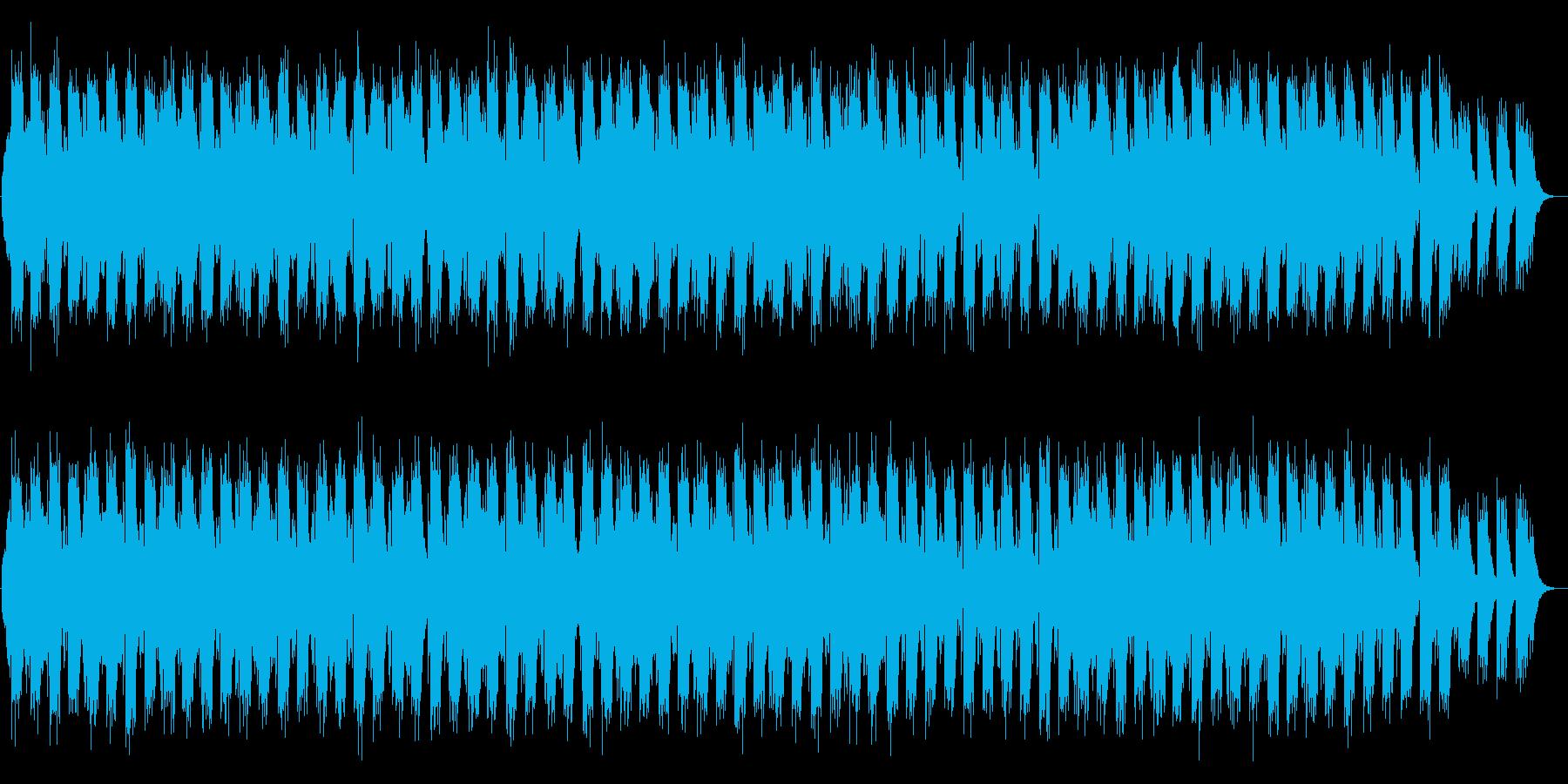 ゆったりとした二胡のBGMの再生済みの波形