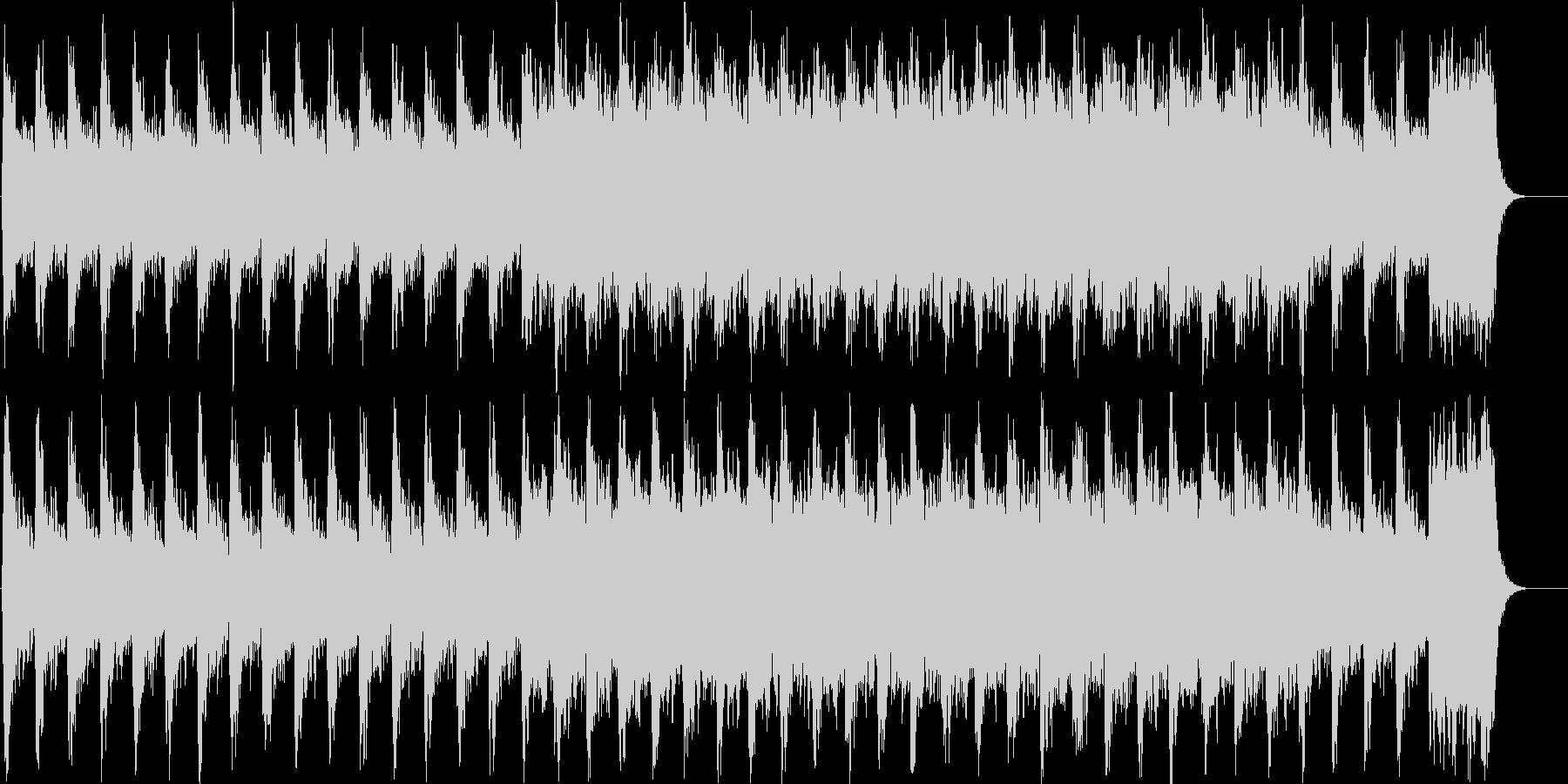 ファンタジックで幻想的なBGMの未再生の波形
