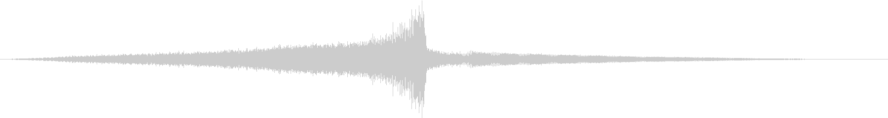 圧倒的なサウンドデザイン_タイトルロゴの未再生の波形