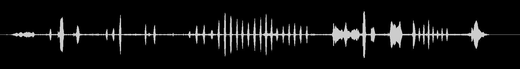 イーグル私道の未再生の波形