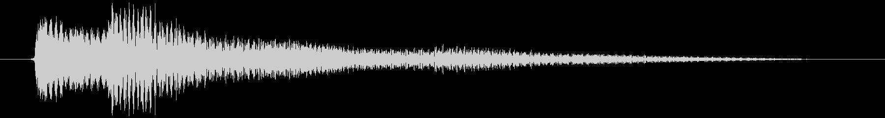 ちょっとしたエラー音・ダイアログ表示の音の未再生の波形