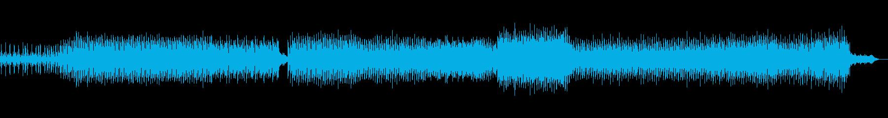 重厚なダーク系テックトランスの再生済みの波形