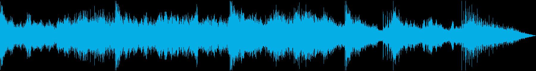 【ダーク】 ワンシーン_闇の中の再生済みの波形