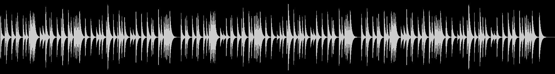 シューベルトの子守唄 18弁オルゴールの未再生の波形