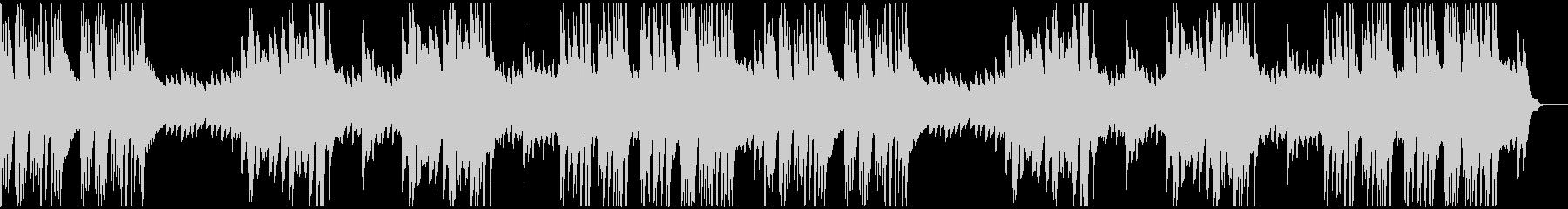 シャープで切ないメロディのソロ・ピアノ曲の未再生の波形