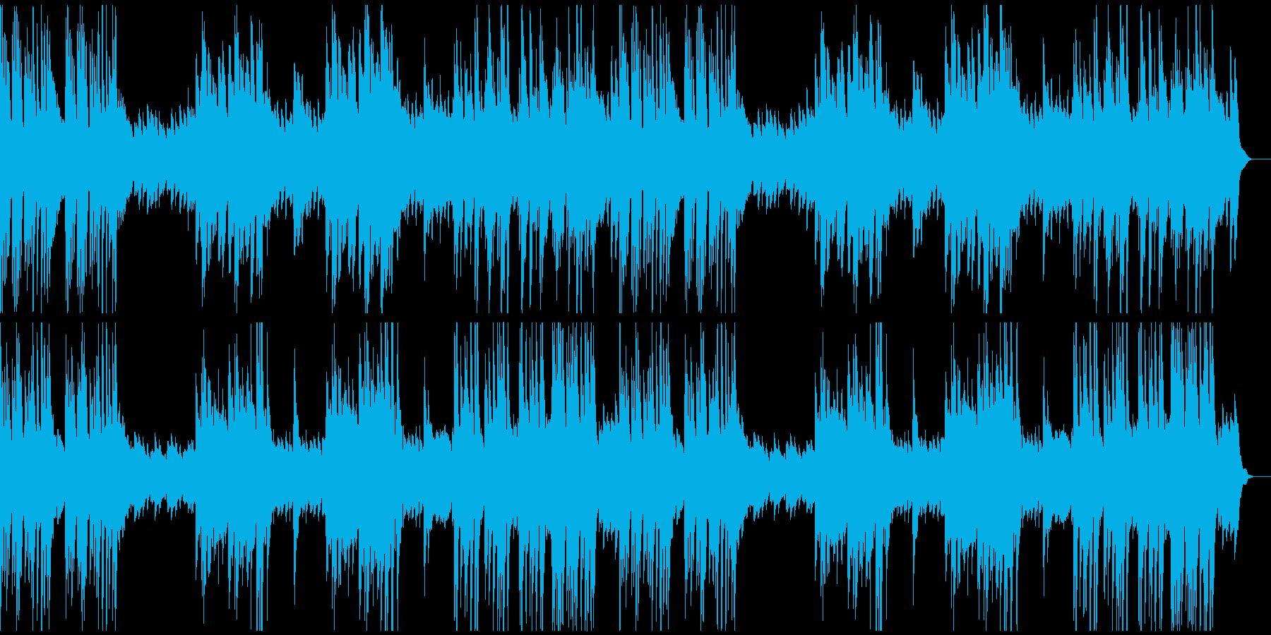 シャープで切ないメロディのソロ・ピアノ曲の再生済みの波形