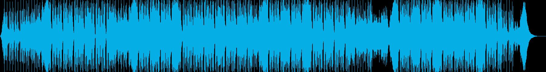 トラップ ヒップホップ 神経質 燃...の再生済みの波形