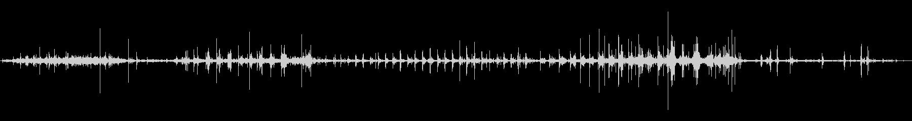 クロスカントリースキーヤー:スキー...の未再生の波形