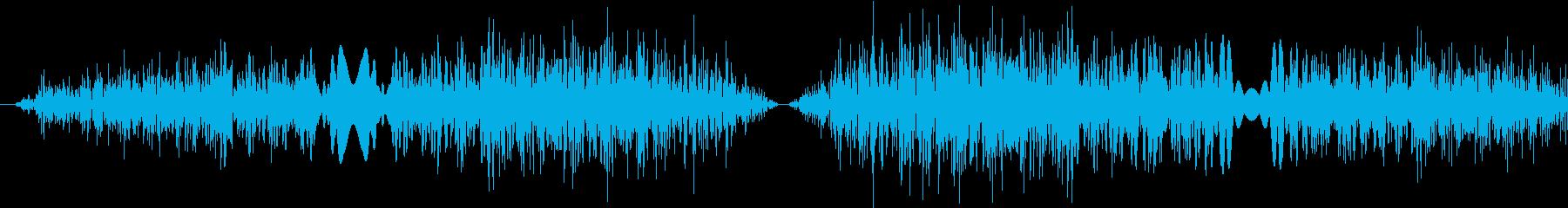 DJプレイ スクラッチ・ノイズ 4の再生済みの波形