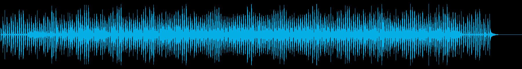 YouTubeかわいい犬猫ペット映像の再生済みの波形