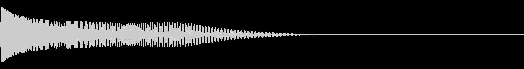 Retro ゲームのアタック音 3の未再生の波形
