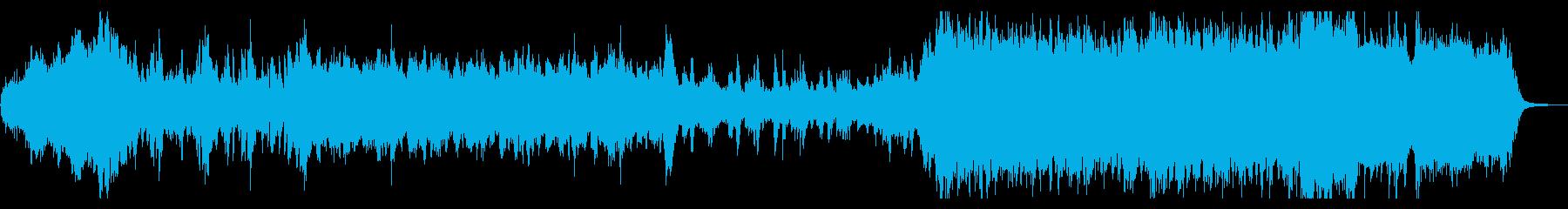 明るいオーケストラ・冒険・挑戦の再生済みの波形