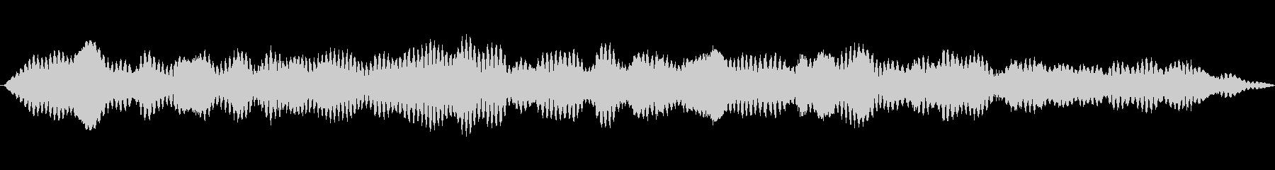 メタリックハーモニックドローン、低...の未再生の波形