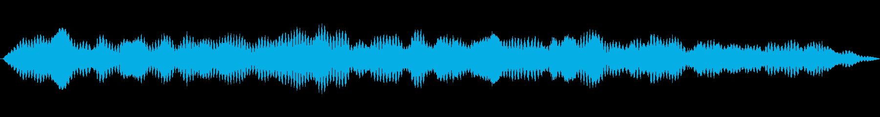 メタリックハーモニックドローン、低...の再生済みの波形
