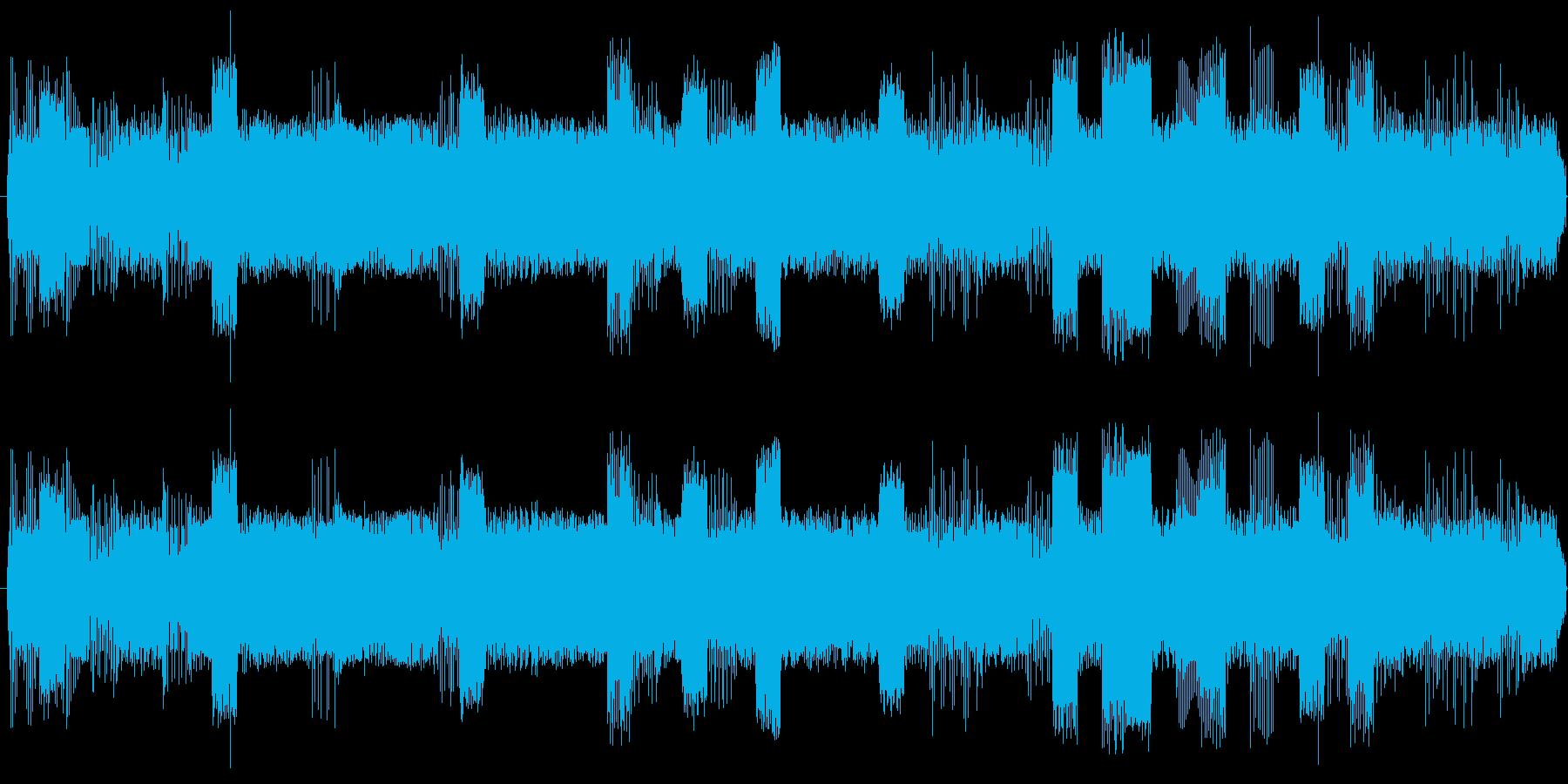 SF世界のマシンルームでコンピュータが…の再生済みの波形